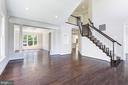 Upgraded wide plank hardwood flooring - 43965 RIVERPOINT DR, LEESBURG