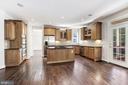 Stainless steel appliances and granite countertops - 43965 RIVERPOINT DR, LEESBURG