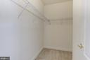2 large walk-in closets - 43965 RIVERPOINT DR, LEESBURG