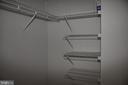 Walk-In closet in Master Bedroom - 2151 JAMIESON AVE #1903, ALEXANDRIA