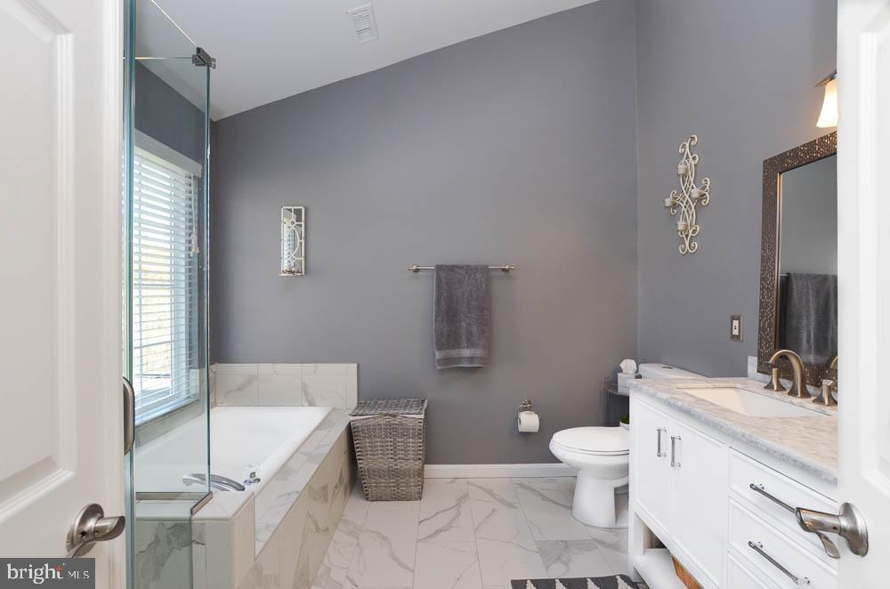 Spacious master bathroom - 191 CONNERY TER SW, LEESBURG