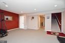 Spacious basement perfect for exercise room - 191 CONNERY TER SW, LEESBURG