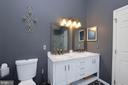 Beautiful master bathroom double sink vanity - 191 CONNERY TER SW, LEESBURG