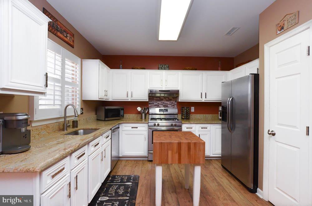 Beautiful upgraded kitchen cabinets - 191 CONNERY TER SW, LEESBURG