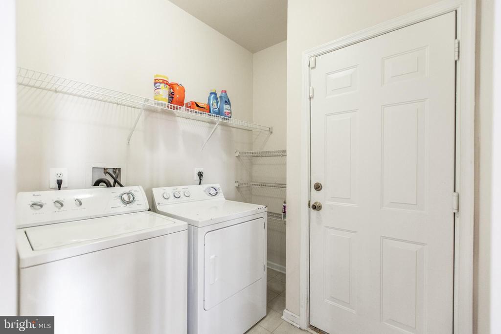 Laundry Room off Garage! - 9648 SAYBROOKE DR, BRISTOW