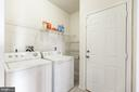 Laundry Room off Garage! - 9648 SAYBROOKE DR, BRISTOW