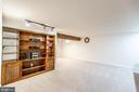 Basement Built in Shelving! - 9648 SAYBROOKE DR, BRISTOW