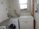 Bldg washer dryer in #1 kitchen area - 1026 3RD ST SE, WASHINGTON