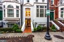 Front door - 1830 JEFFERSON PL NW #8, WASHINGTON
