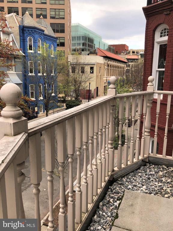 Balcony-2 - 1830 JEFFERSON PL NW #8, WASHINGTON