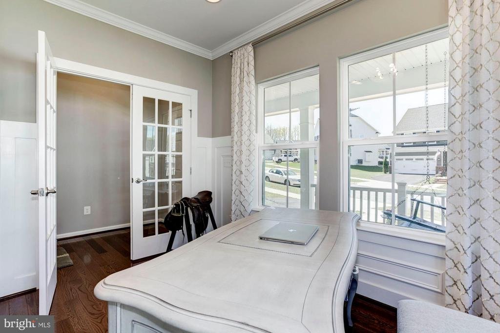 Private Study with Glass French Doors - 2308 SWEET PEPPERBRUSH LOOP, DUMFRIES