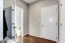 Mud Room with Built-in Seat & Coat Hooks - 2308 SWEET PEPPERBRUSH LOOP, DUMFRIES