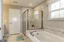 Luxury Bath w/Shower & Soaking Tub - 2308 SWEET PEPPERBRUSH LOOP, DUMFRIES