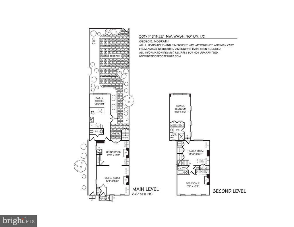 Floorplan - 3017 P ST NW, WASHINGTON