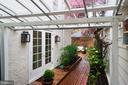Exterior - Covered Sitting Area - 3017 P ST NW, WASHINGTON