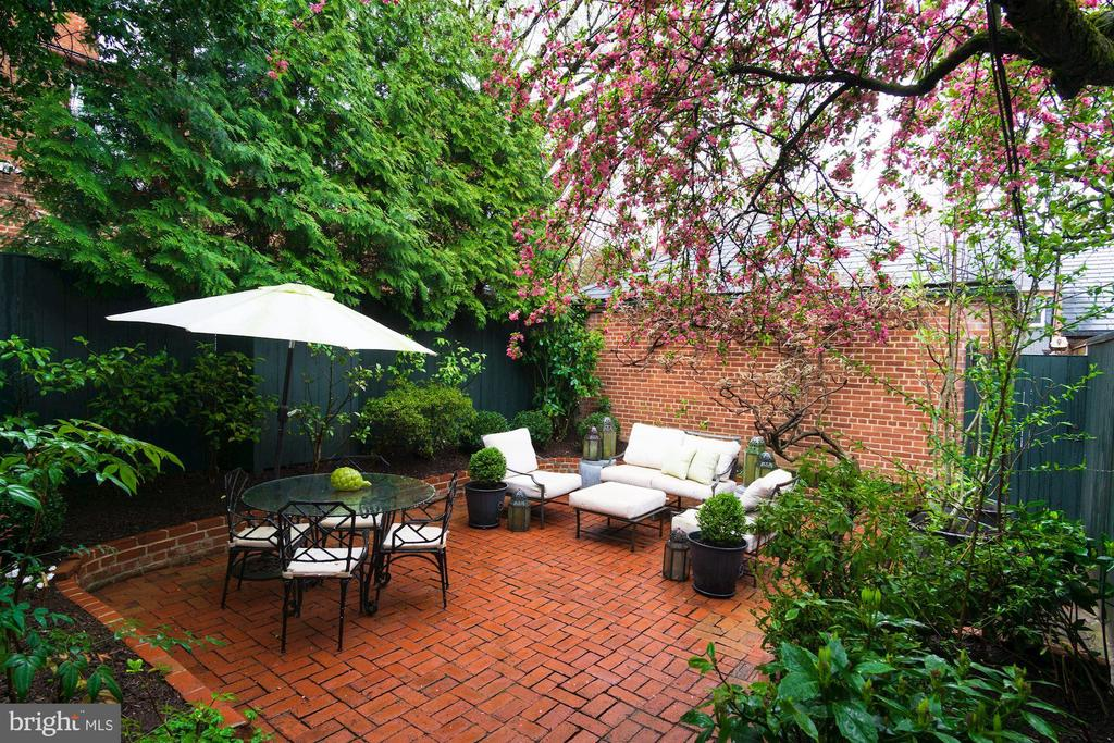 Exterior - Rear Terrace - 3017 P ST NW, WASHINGTON