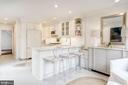 Main Level - Kitchen Island Seating - 3017 P ST NW, WASHINGTON