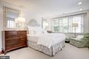 Upper Level - Master Bedroom w/ Garden Views - 3017 P ST NW, WASHINGTON