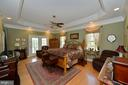 Main level master suite with french doors to porch - 40319 CHARLES TOWN PIKE, HAMILTON