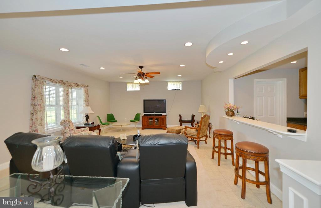 Outstanding light filled lower level living room - 40319 CHARLES TOWN PIKE, HAMILTON