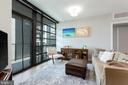 Floor-to-ceiling Glass throughout. - 1300 4TH ST SE #808, WASHINGTON