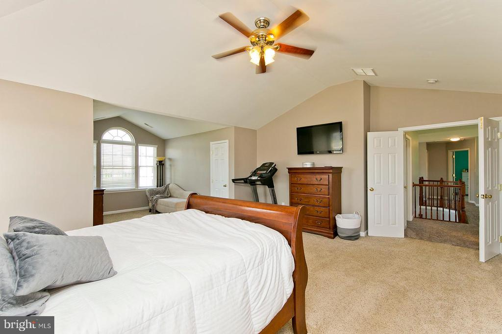 Master bedroom features three walk-in closets - 770 CRUSHED APPLE DR, MARTINSBURG