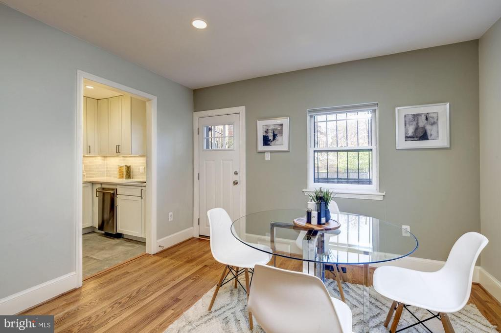 Dining Room - 1813 16TH ST NW #1B, WASHINGTON