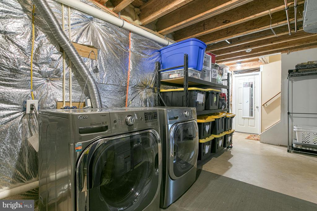 2nd Laundry in basement  - front load W/D convey. - 149 SUMMER BREEZE LN, FREDERICKSBURG