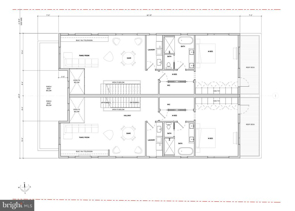 2nd Floor Proposed Layout - 1201 N VERNON ST, ARLINGTON