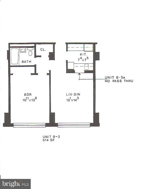 Floor plan - 1111 ARLINGTON BLVD #645, ARLINGTON