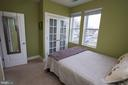 Bedroom Closet with French Doors - 2 17TH ST SE #202, WASHINGTON