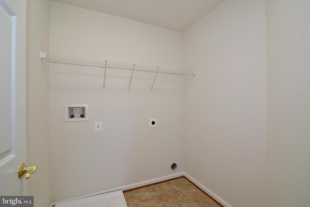 Laundry Room - Upper Level - 14042 BLUE VIEW CT, LEESBURG