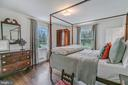 Owner's bedroom has south and west facing windows - 7007 CONNECTICUT AVE, CHEVY CHASE