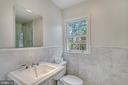 Ensuite marble bathroom - 7007 CONNECTICUT AVE, CHEVY CHASE