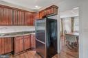 Solid wood cabinets and plenty of storage - 7007 CONNECTICUT AVE, CHEVY CHASE