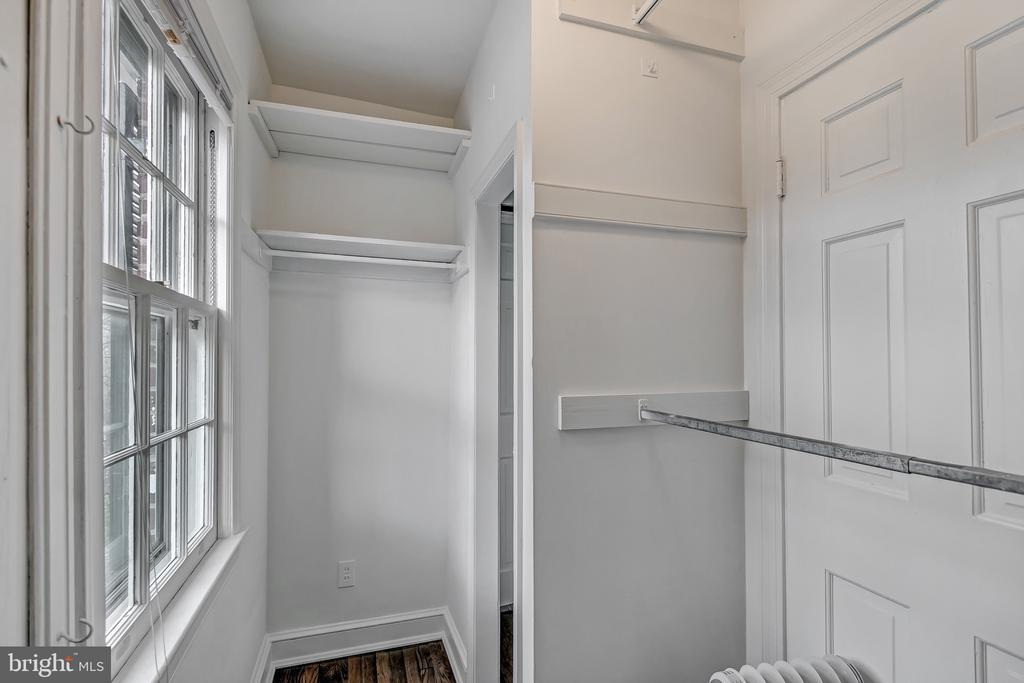 Walk-in closet - 7007 CONNECTICUT AVE, CHEVY CHASE