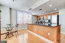 Eat in kitchen  with windows on both side and back - 1205 N GARFIELD ST #804, ARLINGTON