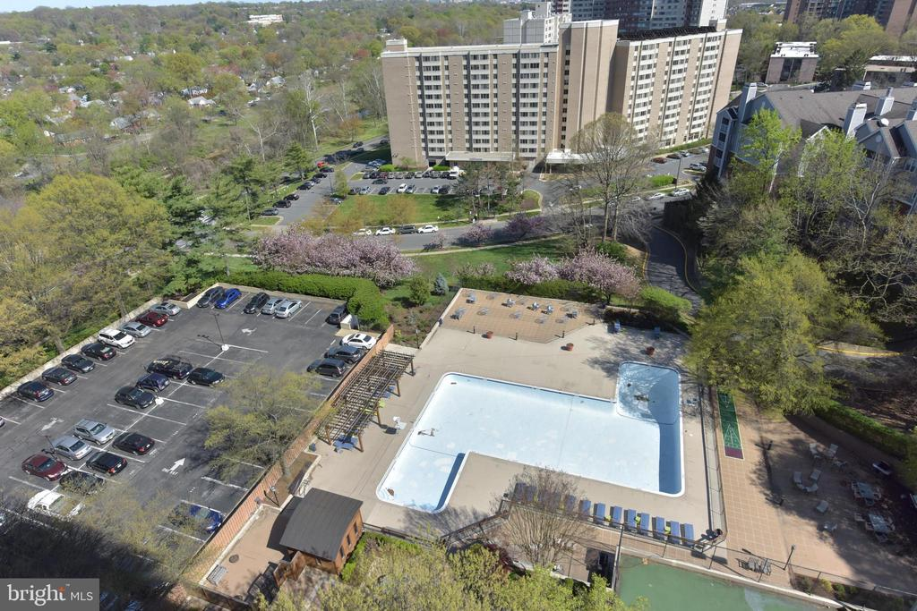 This Olympic-sized pool can be yours this summer - 5500 HOLMES RUN PKWY #1210, ALEXANDRIA