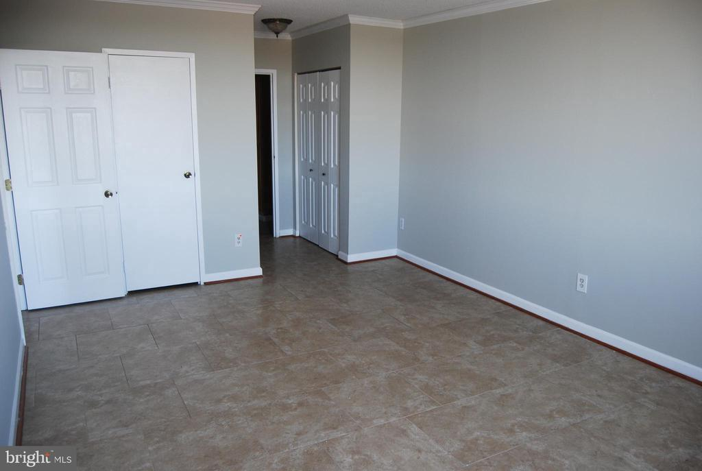 Master Bedroom with walk in closet and 2nd closet - 5500 HOLMES RUN PKWY #1517, ALEXANDRIA