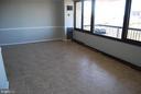 Spacious Living Room - 5500 HOLMES RUN PKWY #1517, ALEXANDRIA