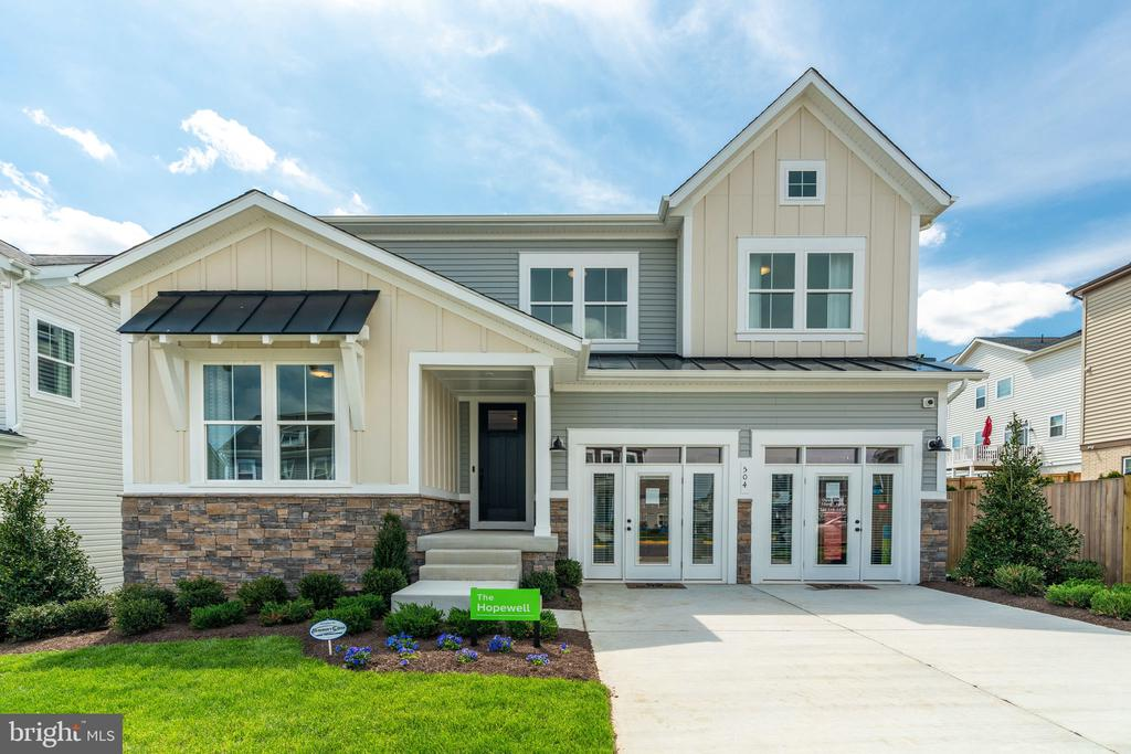 Model Home- Exterior - EMBREY MILL ROAD- HOPEWELL, STAFFORD