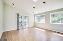 Family room w/ recessed lighting and skylight - 5944 10TH RD N, ARLINGTON