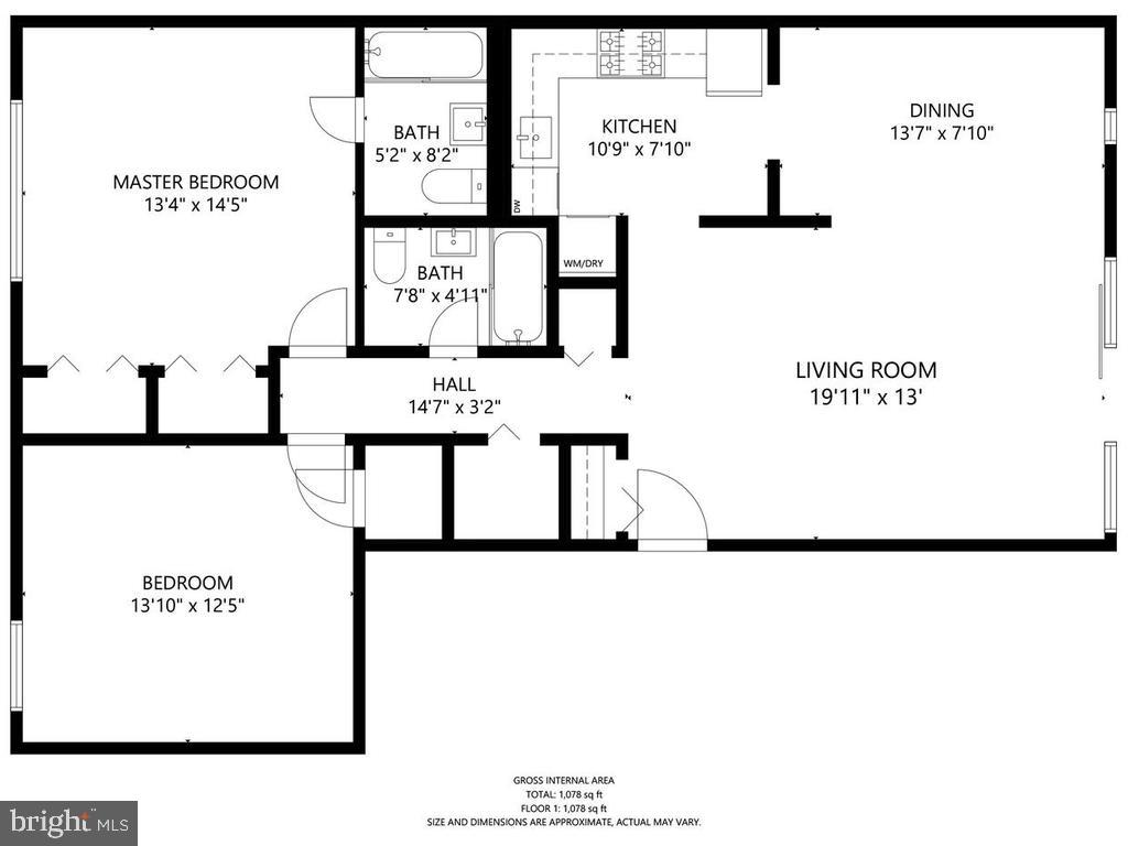 Floor Plan - 102 MONROE ST #101, ROCKVILLE