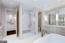 Master Bath - 5427 GOLDSBORO RD, BETHESDA
