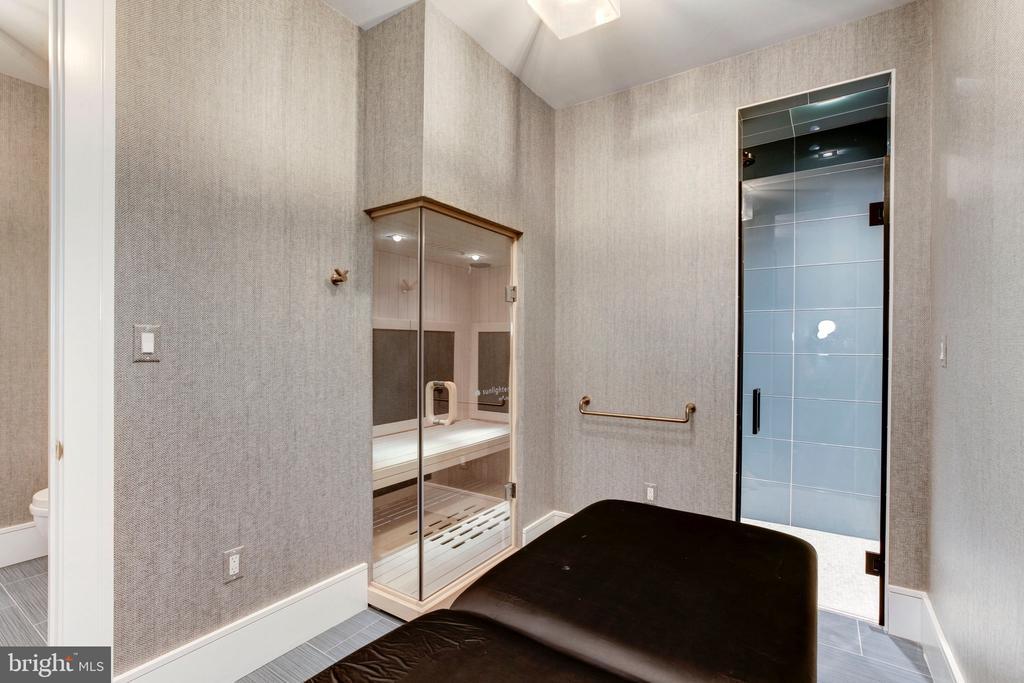 Spa Bath w/Sauna - 5427 GOLDSBORO RD, BETHESDA