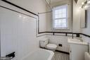 Bathroom - 5220 N CAPITOL ST NW #109, WASHINGTON