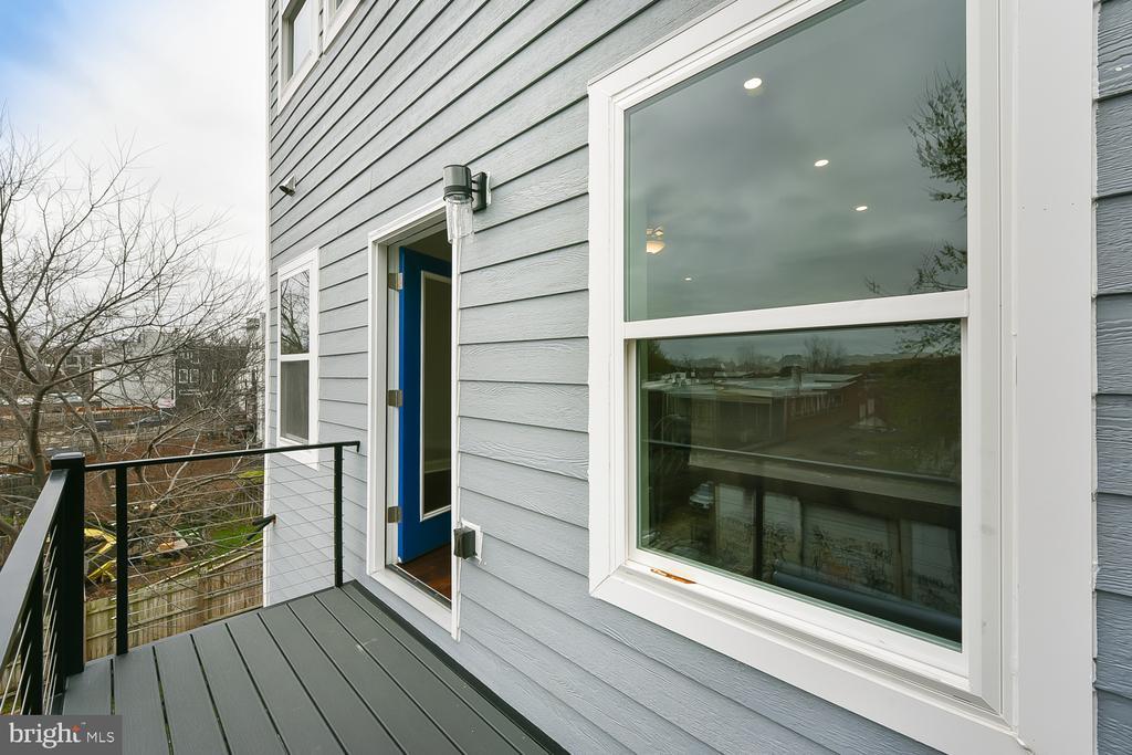 Private Master Balcony - 1167 MORSE ST NE #2, WASHINGTON