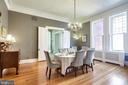 Dining Room - 61 COLLEGE AVE, ANNAPOLIS