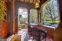 Exquisite details on front porch - 61 COLLEGE AVE, ANNAPOLIS