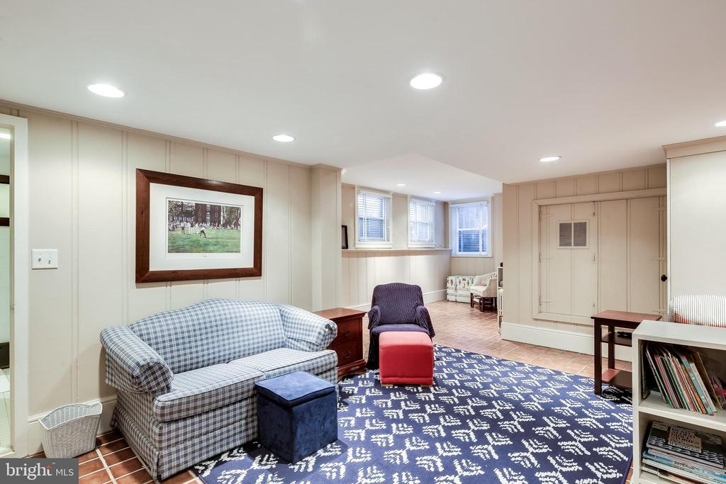 Lower level Living area - 61 COLLEGE AVE, ANNAPOLIS